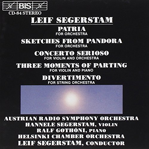 Segerstam: Patria from BIS