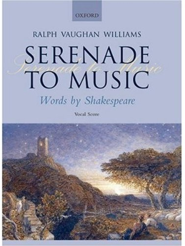 Serenade to Music: Vocal score from Oxford University Press