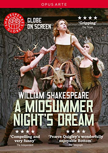 Shakespeare's Globe on Screen: A Midsummer Night's Dream [DVD] [2014] from Opus Arte
