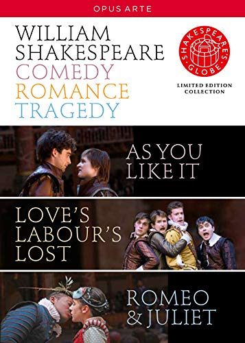 Shakespeare: Comedy; Romance; Tragedy (As You Like It; Loves Labours Lost; Romeo and Juliet) [DVD] [2010] [NTSC] from Opus Arte