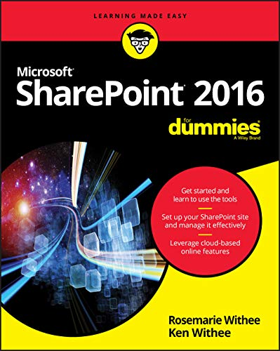 SharePoint 2016 For Dummies (Learning Made Easy) from For Dummies