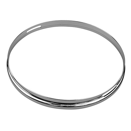 Shaw SHCHV14S 14-Inch Snare Vintage Chrome Finish Drum Hoop from Shaw