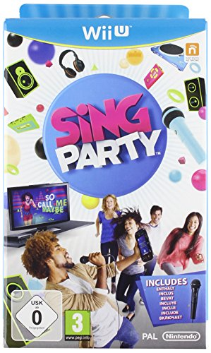 SiNG PARTY with Wii U Wired Microphone from Nintendo