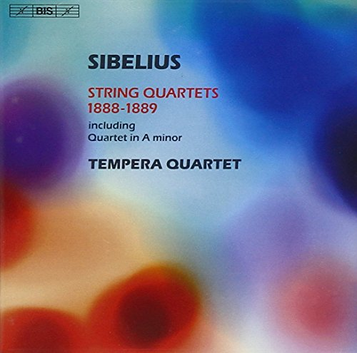 Sibelius - String Quartets 1888-1889 from BIS
