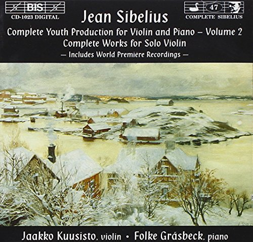 Sibelius: Early Works for Violin and Piano Volume 2 from Bis