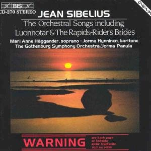 Sibelius: The Orchestral Songs