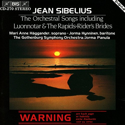 Sibelius: The Orchestral Songs from BIS