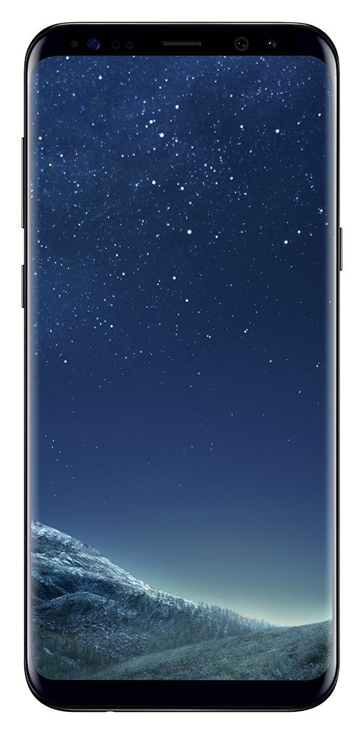 Sim Free Samsung Galaxy S8 Plus Mobile Phone- Midnight Black from Samsung