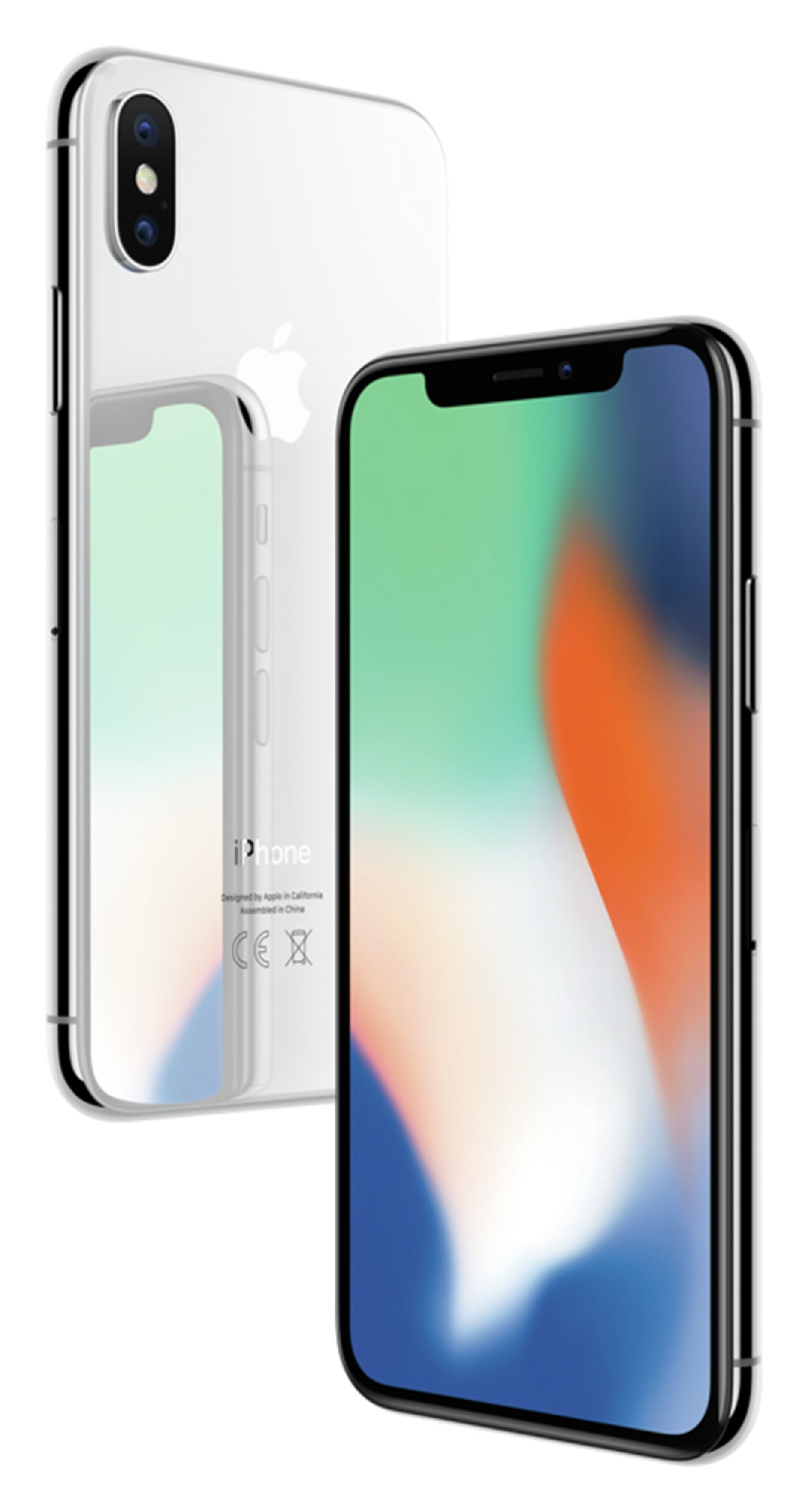SIM Free iPhone X 64GB Mobile Phone - Silver from Apple