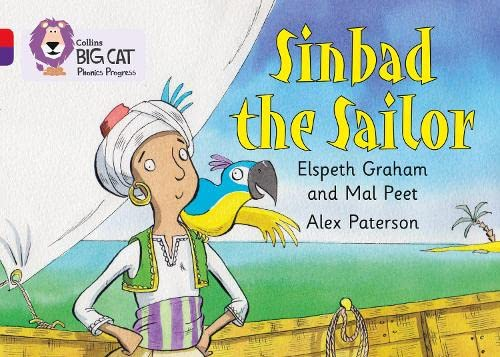 Sinbad the Sailor: Band 02A Red A/Band 08 Purple (Collins Big Cat Phonics Progress) from HarperCollins UK