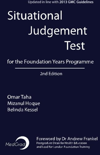 Situational Judgement Test for the Foundation Years Programme from CreateSpace Independent Publishing Platform