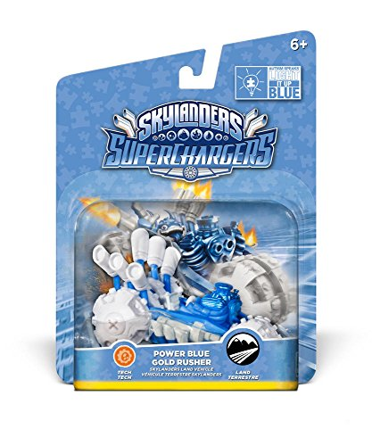 Skylanders Super Chargers Vehicle - Gold Rusher Blue (PS4/Xbox One/Xbox 360/PS3/Nintendo Wii/Nintendo Wii U/Nintendo 3DS) from ACTIVISION