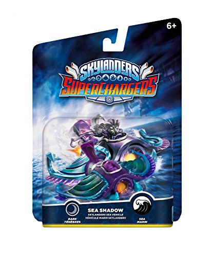 Skylanders SuperChargers Vehicle - Sea Shadow (PS4/Xbox One/Xbox 360/Nintendo Wii/Nintendo Wii U/Nintendo 3DS) from ACTIVISION