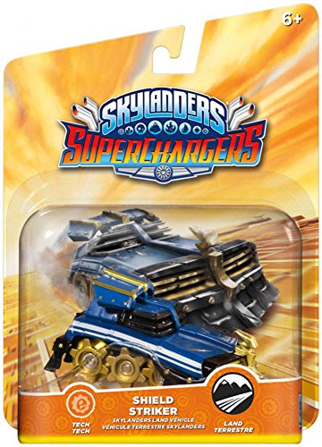 Skylanders SuperChargers Vehicle - Shield Striker (PS4/Xbox One/Xbox 360/PS3/Nintendo Wii/Nintendo Wii U/Nintendo 3DS) from Activision