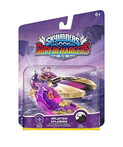 Skylanders SuperChargers Vehicle -  Splatter Splasher (PS4/Xbox One/Xbox 360/PS3/Nintendo Wii/Nintendo Wii U/Nintendo 3DS) from Activision