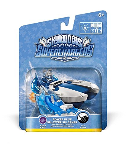 Skylanders SuperChargers Vehicle - Splatter Splasher Blue (PS4/Xbox One/Xbox 360/PS3/Nintendo Wii/Nintendo Wii U/Nintendo 3DS) from ACTIVISION