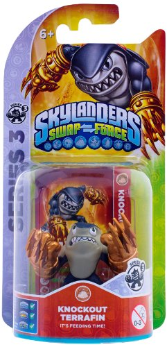 Skylanders Swap Force - Single Character Pack - Terrafin (Xbox 360/PS3/Nintendo Wii U/Wii/3DS) from ACTIVISION