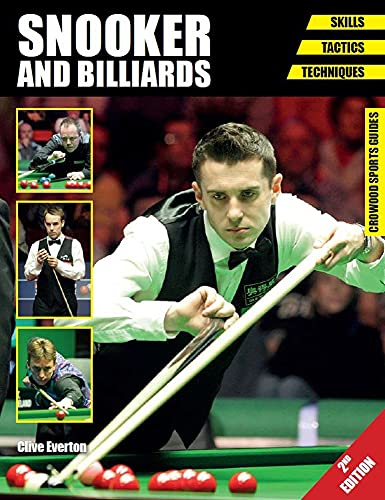 Snooker and Billiards: Skills - Tactics - Techniques - Second Edition (Crowood Sports Guides) from The Crowood Press Ltd