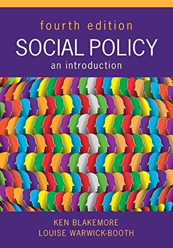 Social Policy: An Introduction, Fourth Edition from Open University Press