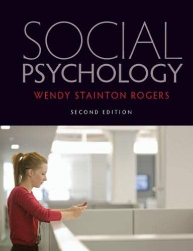 Social psychology from Open University Press
