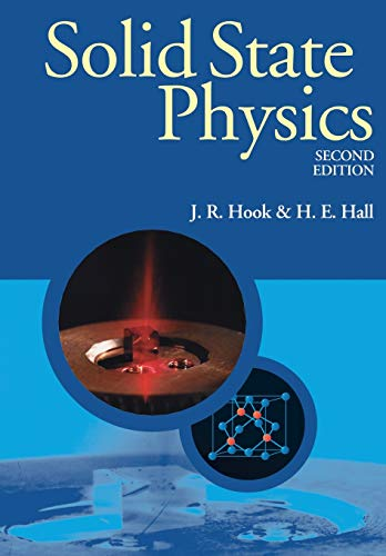 Solid State Physics (Manchester Physics Series) from Wiley-Blackwell