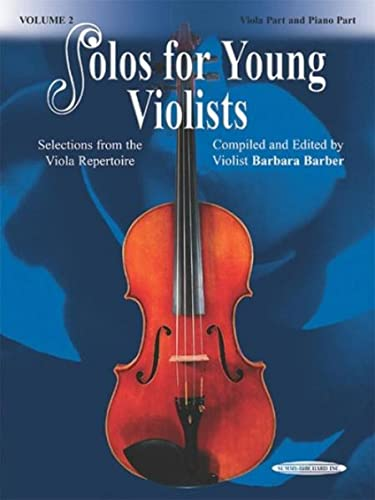 Solos for Young Violists, Vol 3: Selections from the Viola Repertoire from Alfred Music