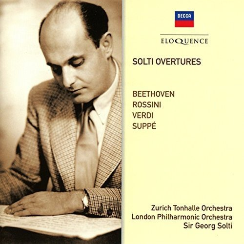 Solti Overtures: Beethoven, Verdie, Rossini, Suppe