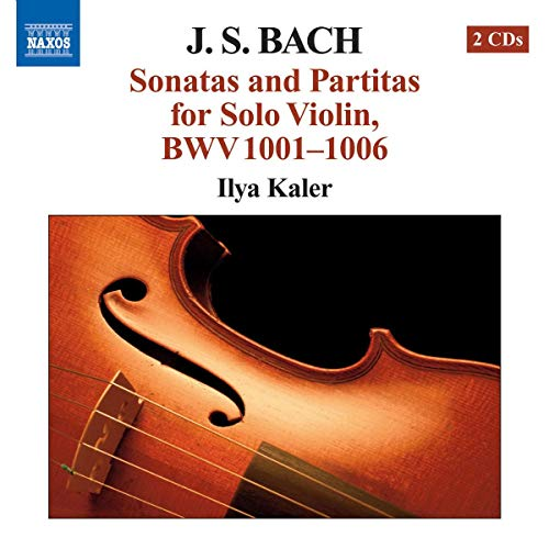 Sonatas and Partitas for Solo Violin, BWV 1001-1006 from NAXOS
