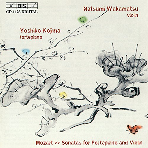 Sonatas for Fortepiano and Violin (Wakamatsu, Kojima) from BIS