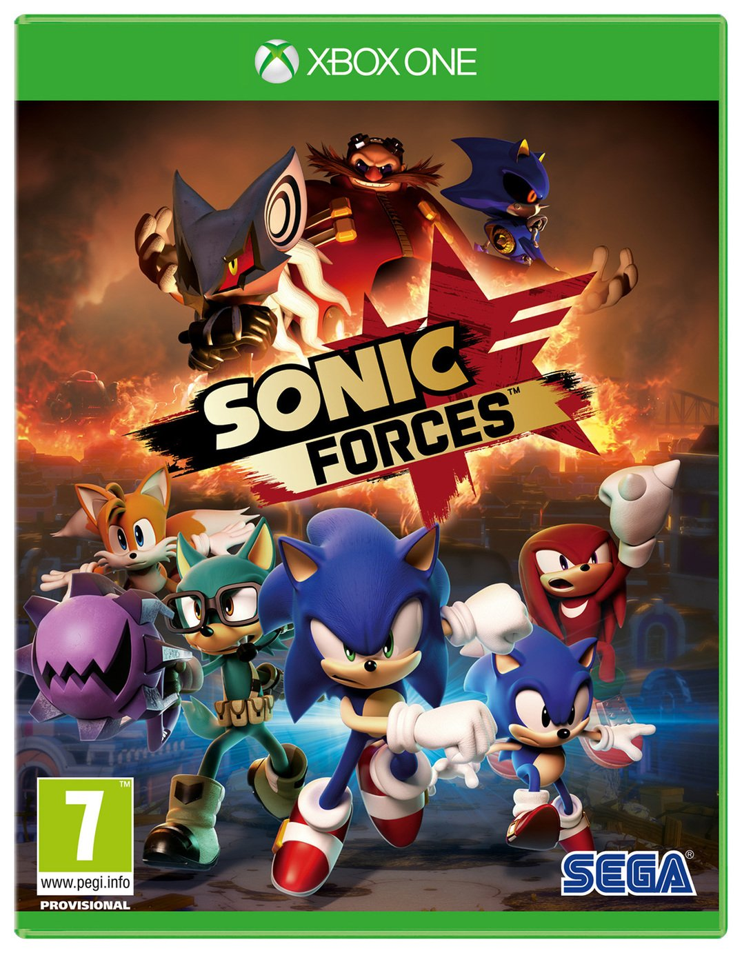 Sonic Forces Xbox One Game from Xbox One X Enhanced