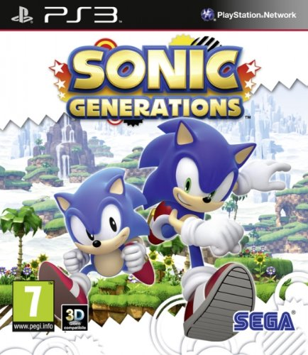 Sonic Generations (PS3) from SEGA