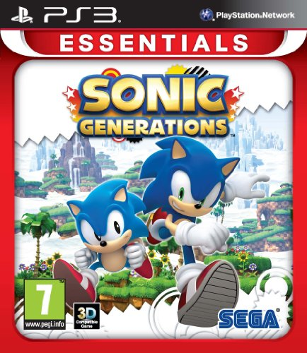 Sonic Generations: Essentials (PS3) from SEGA