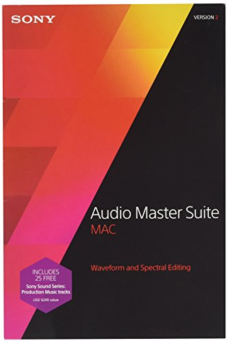 Sony Audio Master Suite Mac 2.0 from Sony