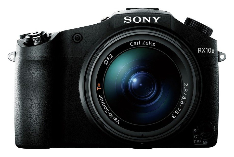 Sony DSC-RX10 II 20.2 MP 8.3x Zoom Bridge Camera - Black from Sony