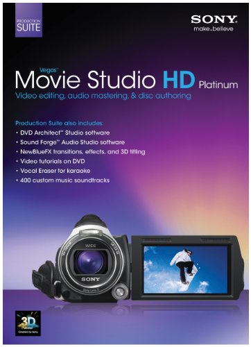 Sony Vegas Movie Studio HD Platinum Production Suite 11 (PC) from Sony