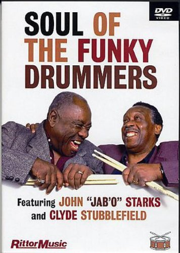 Soul Of The Funky Drummers Dvd from Hal Leonard