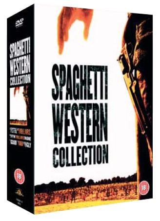 Spaghetti Westerns Collection : Fistful of Dollars / For a Few Dollars More / The Good, The Bad and the Ugly [DVD] from SH123