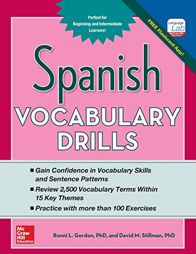 Spanish Vocabulary Drills (Grammar Drills) from McGraw-Hill Education