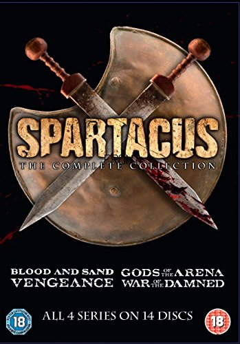 Spartacus: The Complete Collection (Slim Edition) [DVD] from Anchor Bay Entertainment