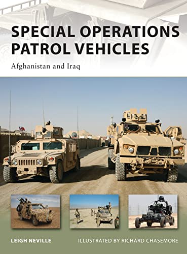 Special Operations Patrol Vehicles: Afghanistan and Iraq: 179 (New Vanguard) from Osprey Publishing