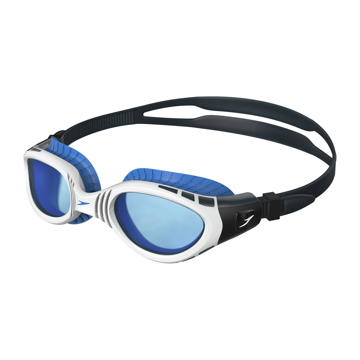 Speedo Adult Futura Biofuse Goggle - Clear/Clear. from Speedo