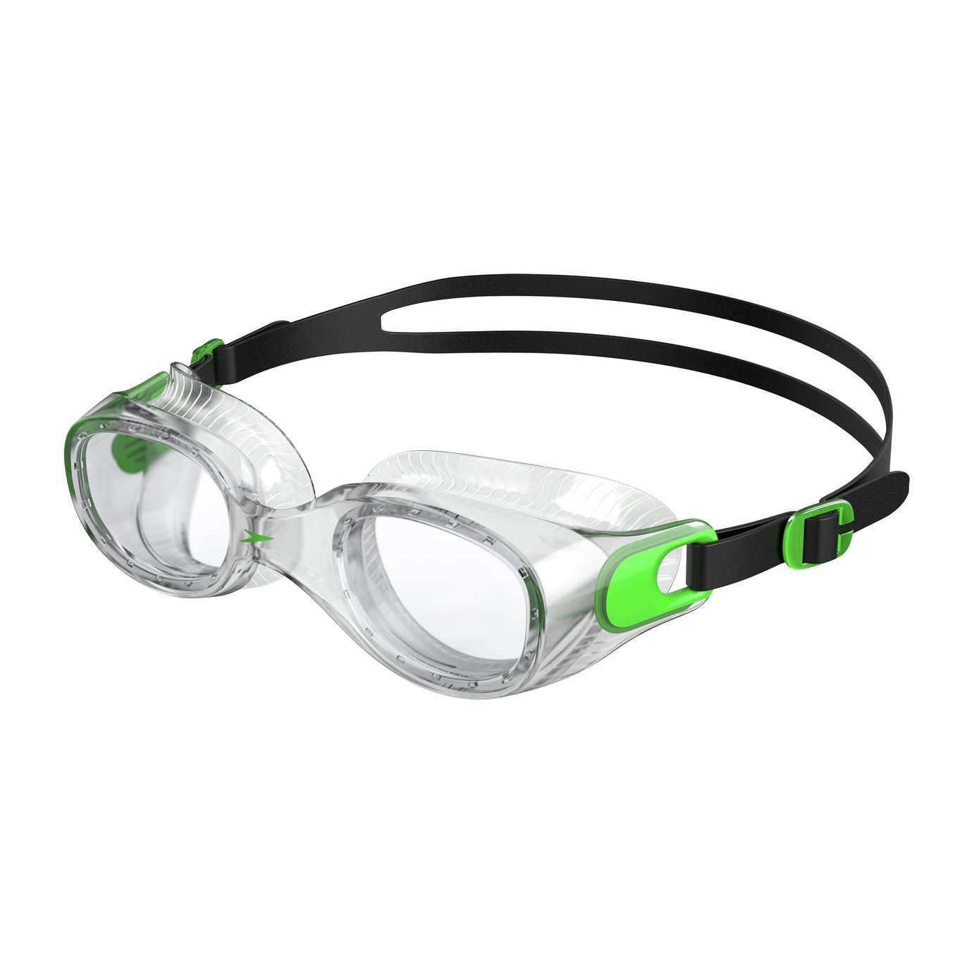 Speedo Futura Classic Goggles - Green & Clear from speedo