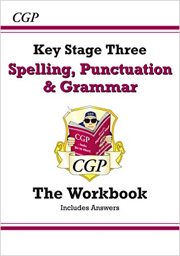 Spelling, Punctuation and Grammar for KS3 - Workbook (with answers) (CGP KS3 English) from Coordination Group Publications Ltd (CGP)