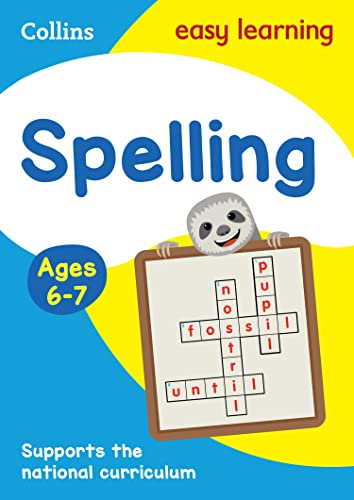 Spelling Ages 6-7: Ideal for home learning (Collins Easy Learning KS1) from HarperCollins Publishers