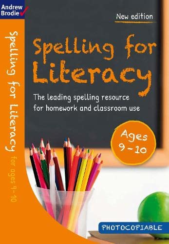 Spelling for Literacy for ages 9-10 from Bloomsbury Publishing PLC