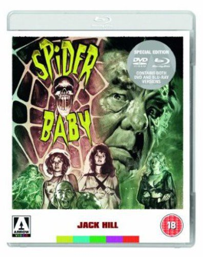 Spider Baby [Dual Format Blu-ray + DVD] from Arrow Video