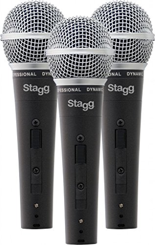 Stagg 3 Professional Dynamic Microphone from Stagg