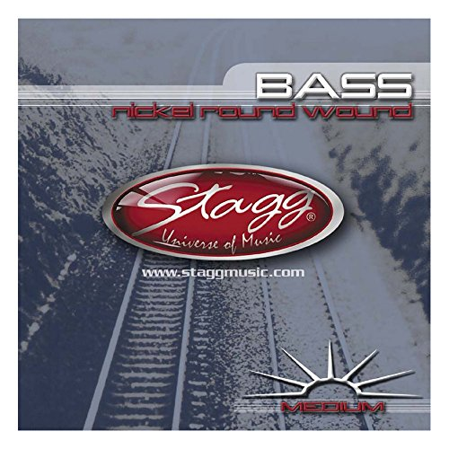Stagg BA-4505 Medium Nickel String Set for Bass Guitar from Stagg