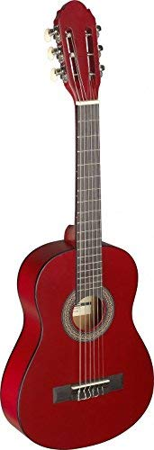 Stagg C405 M RED C405 1/4 SIZE_NAME Classical Guitar - Red from Stagg
