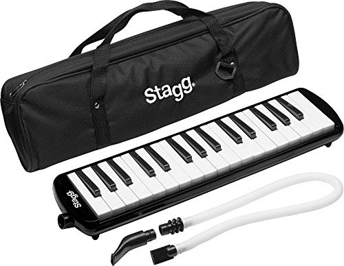 Stagg MELOSTA32BK 32 Note Melodica with Case - Black from Stagg